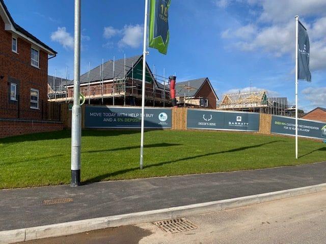 Barratts homes pye green road Cannock